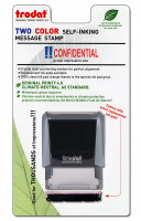 """Confidential"" Message Stamp  