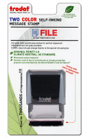 """File"" Message Stamp  