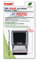 """Posted"" Message Stamp 