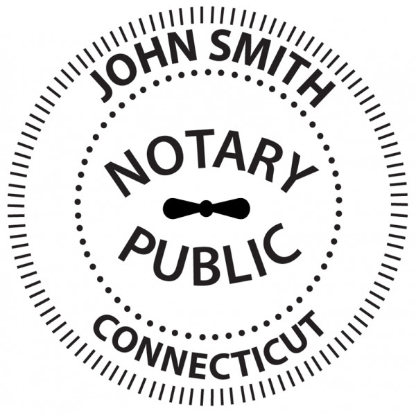 Connecticut Notary Embosser | EMB-NOT-CT