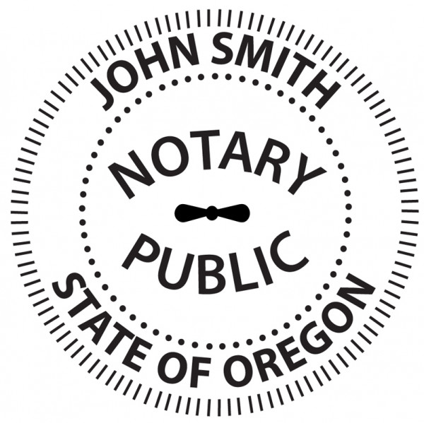 Oregon Notary Embosser | EMB-NOT-OR